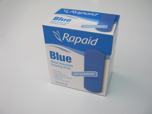 Rapaid Blue Detectable Plasters 100s